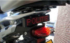 LED stop bord voor motoren ultra klein en onopvallend!