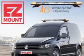 EZ Mount Volkswagen Caddy Whelen Justice