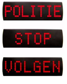 Standaard STOP VOLGEN