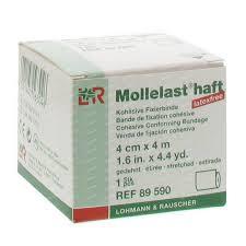 Mollelast Haft 4cmx4m/rol €1,65 excl BTW