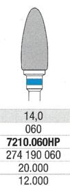 Carbuur-/Hardmetaal frees - Standaard snijvlak, L:14 Ø:6,0