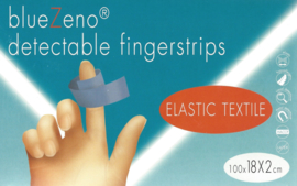 BlueZeno detectable fingerstrips 18x2cm 100st