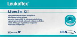 Leukoflex Hechtpleister (=Waterdicht) 2,5cmx5m/op rol