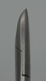 Nageltang, 100mm, rechte bek, Afgerond-Diabetici, K-135