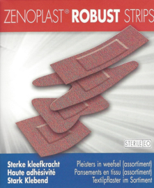 Zenoplast Robust Strips STERIEL /30st €5,07 excl BTW