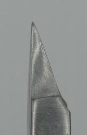 Hoektang, 130mm, rechte bek, vierkant huis, B-2013