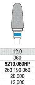 Carbuur-/Hardmetaal frees - Standaard snijvlak, L:12 Ø:6,0