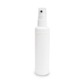 Flesje 100ml met verstuiver (wit plastic) /st