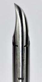 Nageltang, 160mm, concave bek, Afgerond-Diabetici, K-134