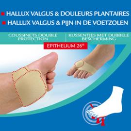 Epitact Voorvoetkussen en Hallux Valgus bescherming /2st €33,58 - NU€28,75 excl BTW