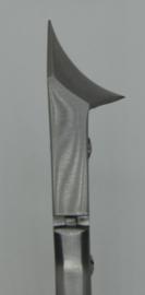 Kopsnijder, 160mm, concaaf met 2 punten, dubbele scharnier en bobijnveer, B-5002