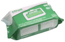 Clinell Doekjes 200st (reinigen/desinfectie oppervlakken)