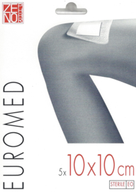 Euromed 10x10cm 5st /€