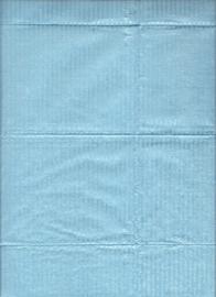 Dental doekjes 3-lagen PP+ Blauw /50st