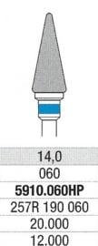 Carbuur-/Hardmetaal frees - Standaard snijvlak, L:14 Ø:4,0