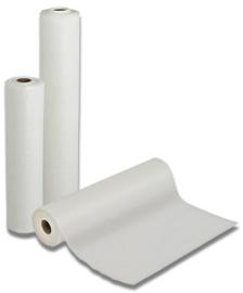 Onderzoekstafelpapier 2 lagen met witte PE 40cmx50m/rol