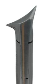 Kopsnijder, 140mm, concaaf met 2 punten, afgerond, diabetici, K-111
