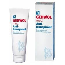 Gehwol med Anti-transpirant /125ml