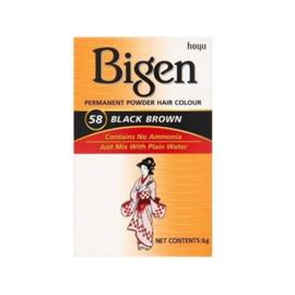 Bigen Hair Color Black Brown 58