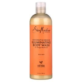 Shea Moisture Coconut & Hibiscus Body Wash 13 oz