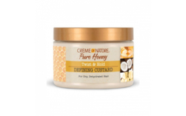 Creme Of Nature Pure Honey Twist & Hold Defining Custard 11.5oz