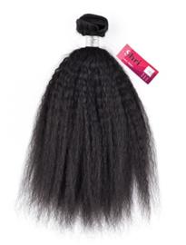 Shri 100 % Remy Brazilian Hair Weave - Kinky Straight