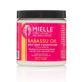Mielle Organics Babassu Oil & Mint Deep Conditioner 8 oz (240ml)