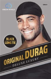 Dream World Original DURAG Black Long Tie
