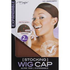 Wig cap - Brown ( 2pcs )