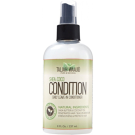 Taliah Waajid Shea Coco Condition Daily Leave In Conditioner Spray 236ml