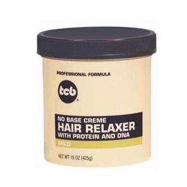 TCB - No Base Creme Hair Relaxer (Mild) 425 Gr