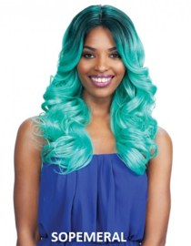 Freetress Equal Lace front wig Deep Invisible Part - MACKENZIE