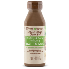 Creme of Nature Aloe & Black Castor Oil Healthy & Long Fortifying Hair Mask 355 ml