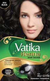 Dabur Vatika Henna Hair Color 6x10gr. Rich Black