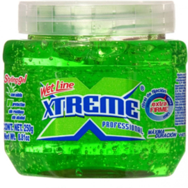 Wet Line Xtreme Professional Styling Gel Extra Hold Green 8.8 Oz / 250 Ml