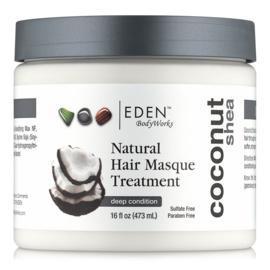 Eden Bodyworks Coconut Shea Natural Hair Masque Treatment 473ml