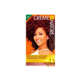Creme Of Nature Moisture Rich Hair Color Kit C31 Vivid Red