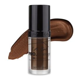 LA Girl Pro Coverage HD Liquid Foundation GLM656 Dark Chocolate