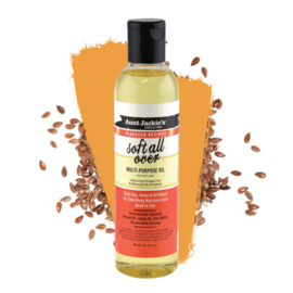 Aunt Jackie's Curls & Coils Flaxseed Recipes Soft All Over Multi-Purpose Oil (8 oz.) 8 reviews