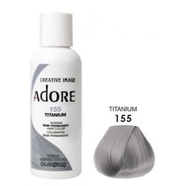Adore Semi Permanent Hair Color 155 Titanium 118 ml
