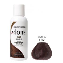 Adore Semi Permanent Hair Color 107 Mocha 118 ml
