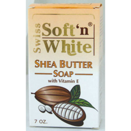 Swiss Soft'n White Shea Butter Soap 200g