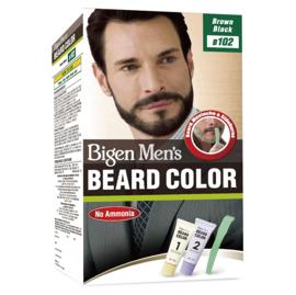 BIGEN MEN'S BEARD COLOR #102 BROWN BLACK
