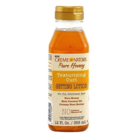 Creme Of Nature Pure Honey Text. Curl Setting Lotion 12oz