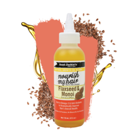 Aunt Jackie's Natural Growth Oil Blends Nourish My Hair Flaxseed & Monoi 118ml