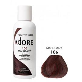 Adore Semi Permanent Hair Color 106 Mahogany 118ml