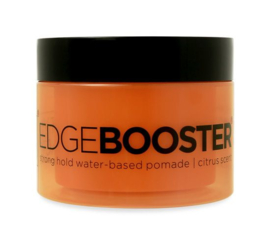 Style Factor Edge Booster Strong Hold Water Based Pomade Citrus 3.38oz
