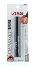 Kiss Strip Eyelash Adhesive 24 Hour Clear Wimperlijm 96692