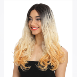 """Sleek Synthetic Wigs 101 Front Lace Wig - RIGA 21"""" Inch"""