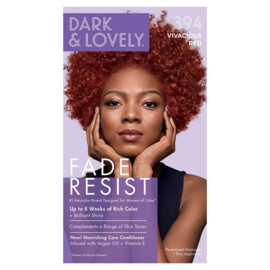 Dark & Lovely Fade Resist Vivacious Red Rich Conditioning Color 394